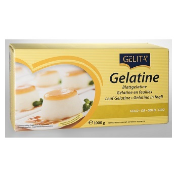 gelatine leaves gold