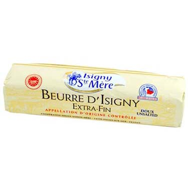 isigny unsalted butter