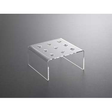 square plastic holder